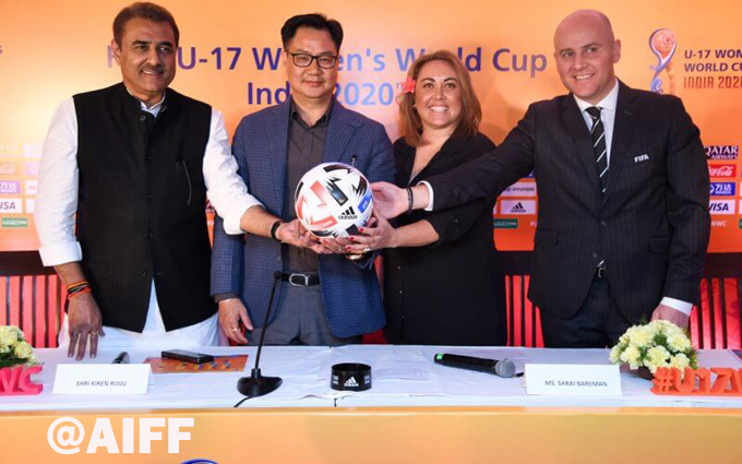 INDIA SET TO HOST U-17 WOMEN'S FIFA WORLD CUP 2020