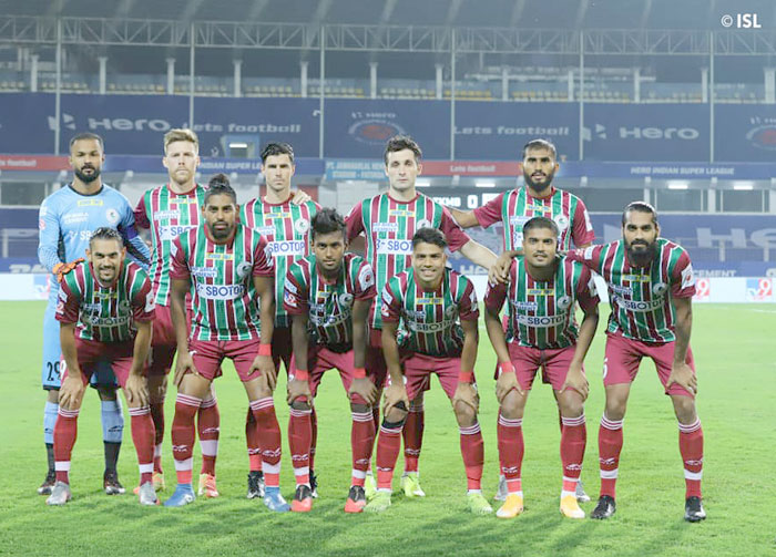 03/01/2021 : (ISL : M-46) : ATK MOHUN BAGAN  -- <b><font color=red> 2-0 </b></font> -- NORTH EAST UNITED FC