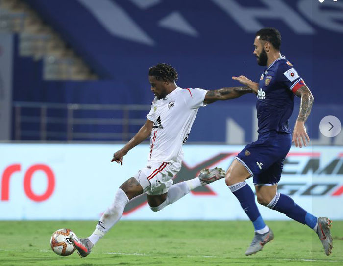 18/02/2021 (ISL : Match-98) :CHENNAIYIN FC - <b><font color=red> 3-3 </b></font> - NORTH EAST UNITED