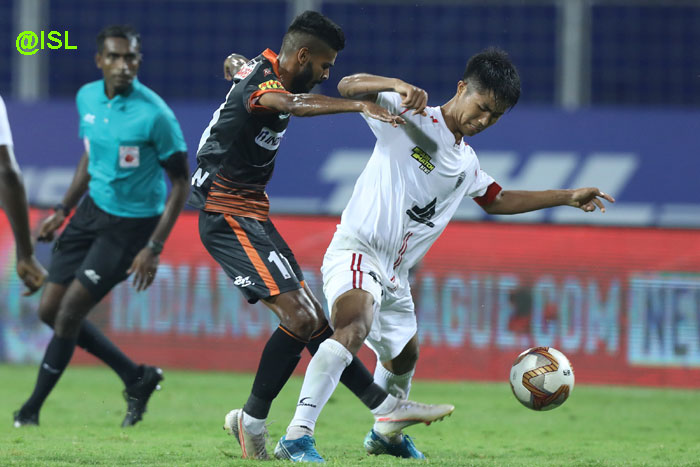 30.11.2020 : (ISL: M-12) FC GOA </b></a> -- <b><font color=red> 1-1 </b></font> -- NORTH EAST UNITED