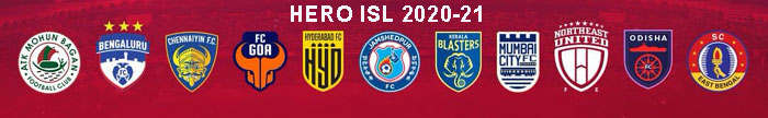 HERO INDIAN SUPERT LEAGUE 2020-21
