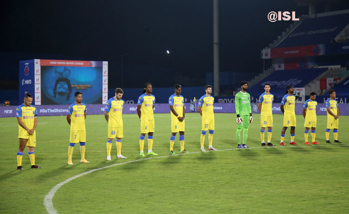 26.11.2020 :(ISL- M7): KERALA BLASTERS FC--<b><font color=red> 2-2 </b></font>--NORTH EAST UNITED FC  <b>(FT)</b><br>