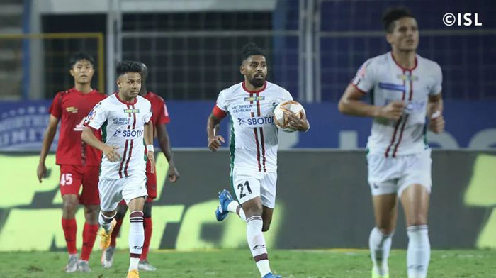 26/01/21 (ISL: M-72) </b> : NORTHEAST UNITED FC - <b><font color=red> 2-1 </b></font> - ATK MOHUN BAGAN