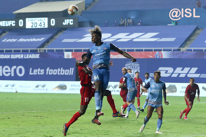 18.12.20 : (ISL MATCH : 32) NORTH EAST UNITED (<b><font color=red> 0-1 </b></font> ) JAMSHEDPUR FC