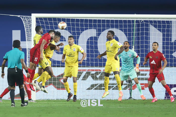 21/11/20 - NORTH EAST UNITED - <b><font color=red> 1-0 </b></font>- MUMBAI CITY FC <b> (FT)
