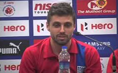 Mumbai City FC retains Brazilian Born attacking midfielder Andre Moritz