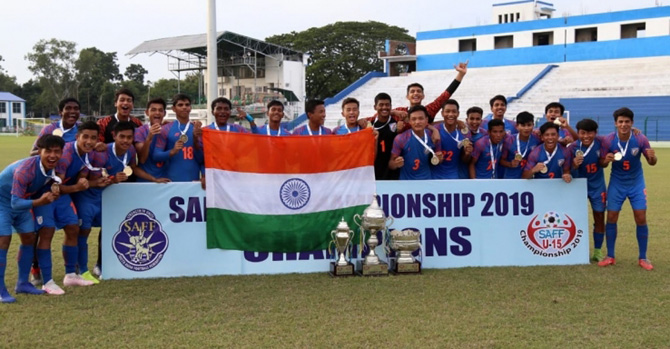 SAFF U-15 TOURNAMENT 2019